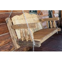 MWHCLSCSL Outdoor Porch Swing - Homestead