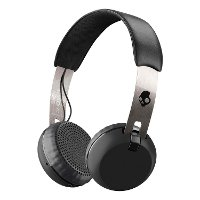 S5GBW-J539 Skullcandy Grind Wireless On-Ear Headphones - Black
