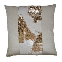 Ivory 24 Inch Mermaid Throw Pillow