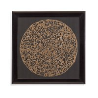 Gold Deco-Graph Framed Wall Art