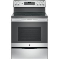 JB655SKSS GE 5.3 cu. ft. Electric Range - Stainless Steel