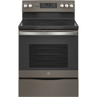 JB655EKES GE Electric Range with Fifth Element Warming Zone - 5.3 cu. ft. Slate