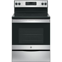 JBS60RKSS GE 30 Inch 5.3 cu. ft. Electric Slide-in Range - Stainless Steel