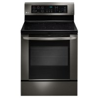 LRE3061BD LG 6.3 cu. ft. Electric Range with EasyClean - Black Stainless Steel