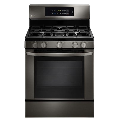 LRG3061BD LG 5.4 cu. ft. Gas Range - Black Stainless Steel
