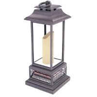 Bronze Outdoor Lantern with Working Heat