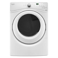 WED75HEFW Whirlpool Electric Dryer - 7.4 cu. ft. White