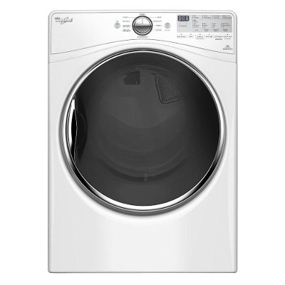 WED92HEFW Whirlpool Electric Dryer with EcoBoost™ Option - 7.4 cu. ft. White
