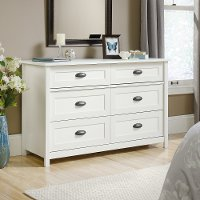 Soft White 6-Drawer Dresser - County Line