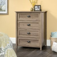 Salt Oak 4-Drawer Chest - County Line