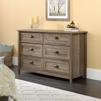 Salt Oak 6-Drawer Dresser - County Line