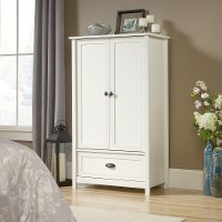 Soft White Armoire - County Line