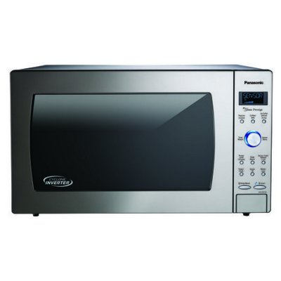 Nn Sd975s Panasonic 23 Stainless Steel 2 Cu Ft Microwave Oven
