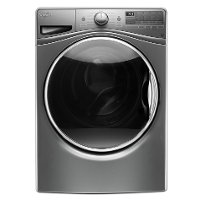 WFW92HEFC Whirlpool Front Load Washer - 4.5 cu. ft. Chrome Shadow