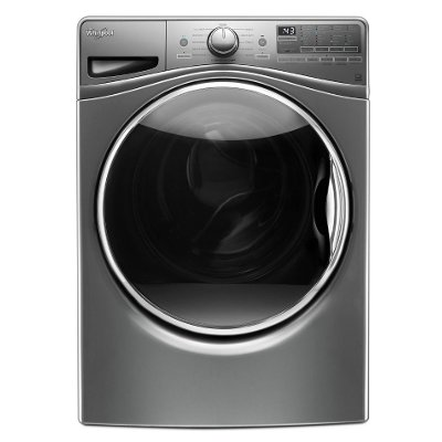 WFW92HEFC Whirlpool Front Load Washer With Load and Go System - 4.5 cu. ft. Chrome Shadow