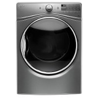 WED92HEFC Whirlpool 7.4 cu. ft. Electric Front Load Dryer - Chrome Shadow