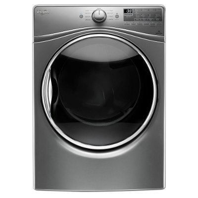 WED92HEFC Whirlpool Electric Front Load Dryer - 7.4 cu. ft. Chrome Shadow