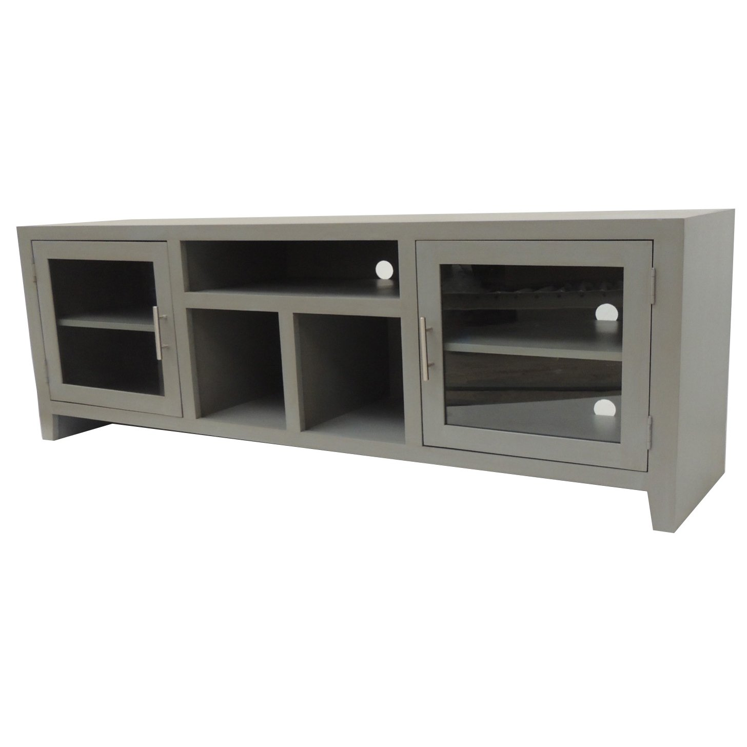 Contemporary 65 Inch Gray Tv Stand Rc Willey Furniture Store