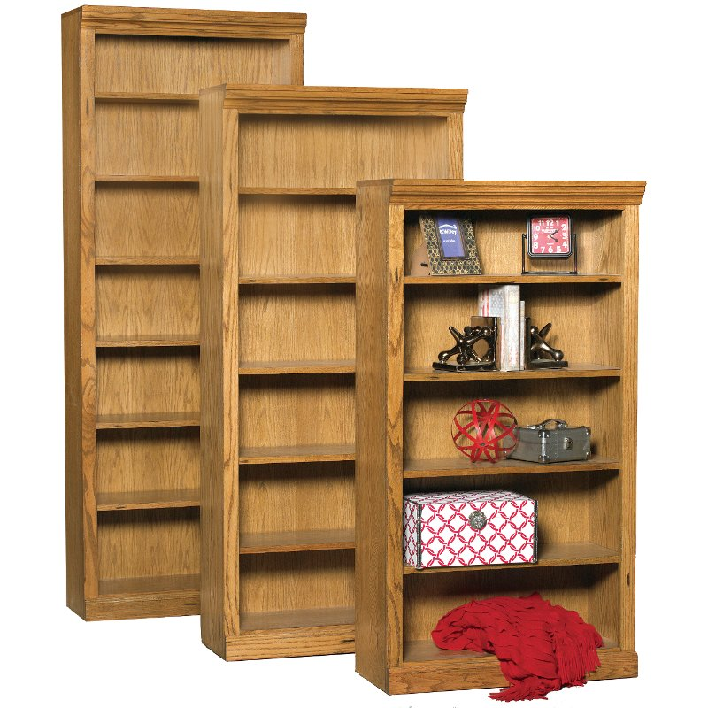84 Inch Rustic Oak Bookcase Rc Willey