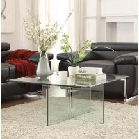 Glass Coffee Table - Vision