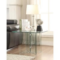 Glass End Table - Vision