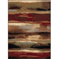 FESTIVAL8900-MLTI..2 5 x 7 Medium Abstract Multi-Colored Area Rug - Festival
