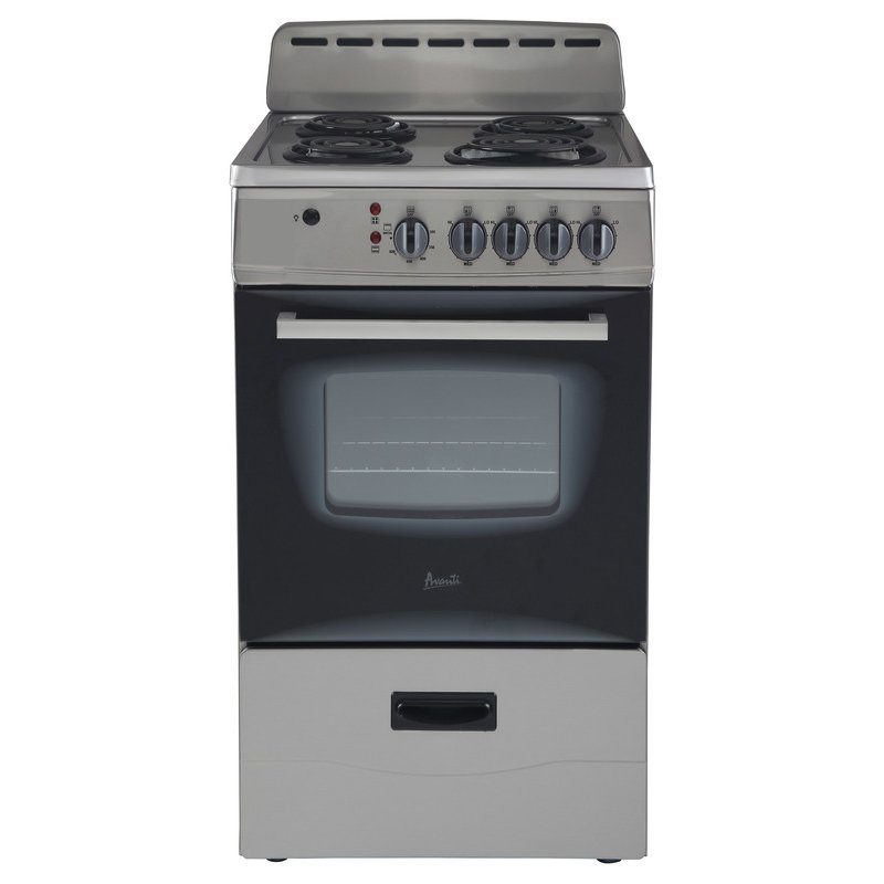 Electric Range   Stainless Steel