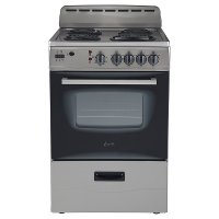 ER24P3SG Avanti Electric Range - Gray