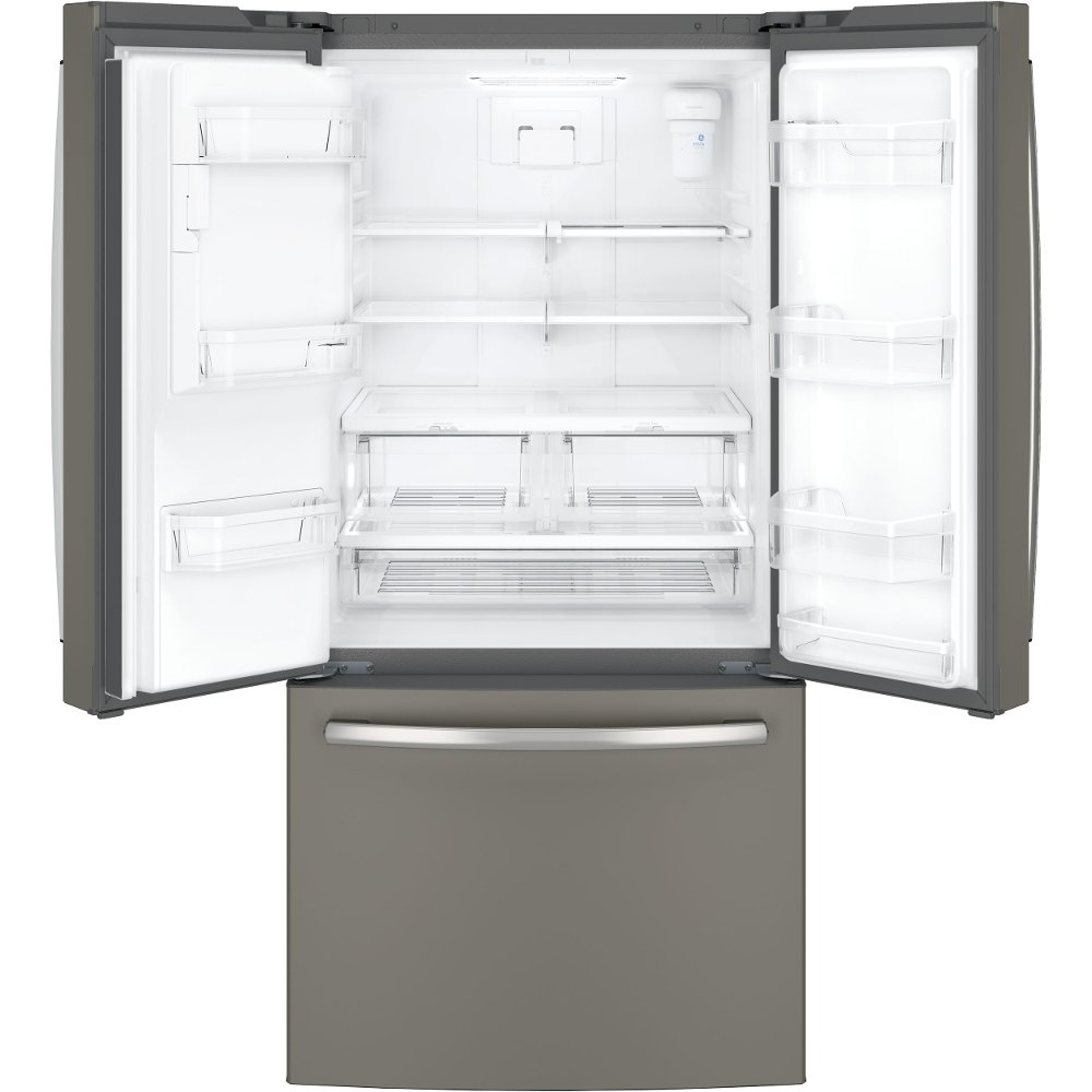 Awesome GE 33 Inch Wide French Door Refrigerator   Slate | RC Willey Furniture Store