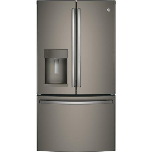 Ge French Door Refrigerator 36 Inch Counter Depth Slate Rc