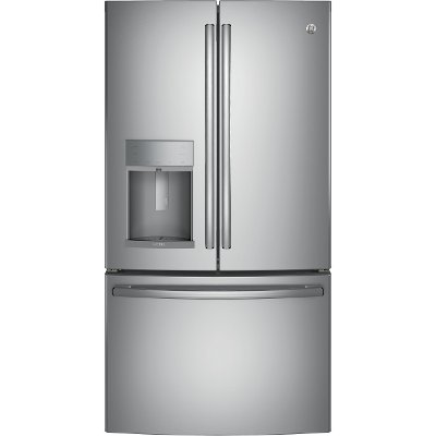 PFE28KSKSS GE Profile 27.8 cu. ft. French Door Refrigerator - 36 Inch Stainless Steel