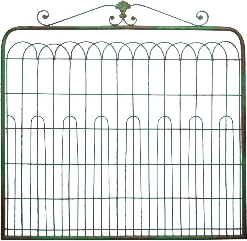 Turquoise Metal Gate