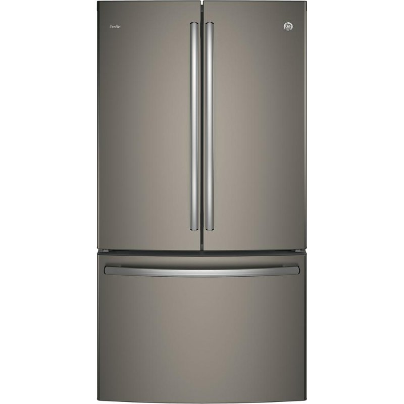 Ge Profile French Door Refrigerator With Internal Water Dispenser 36 Inch Slate Counter Depth