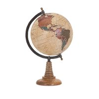 Bente 15.5 Inch Table Top Globe