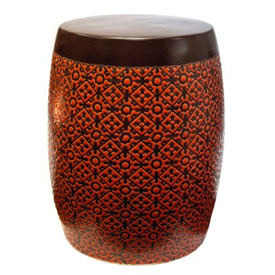 Orange Garden Stool  sc 1 st  RC Willey & Orange Garden Stool | RC Willey Furniture Store islam-shia.org