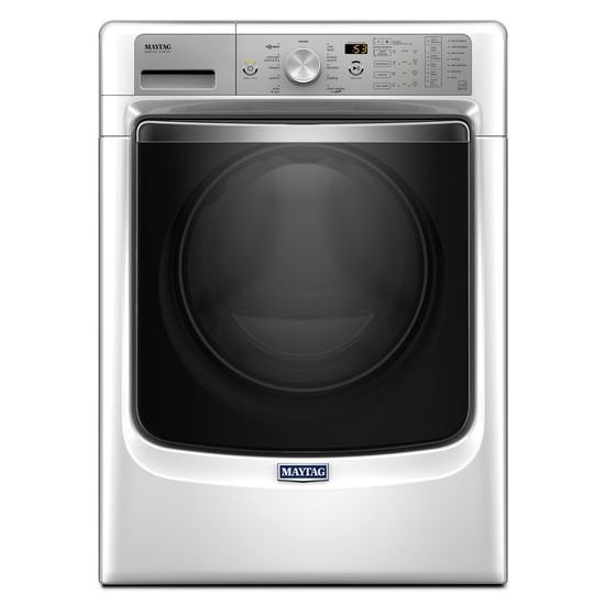 Maytag Front Load Washer With Sanitize Cycle 4 3 Cu Ft White Rc Willey Furniture