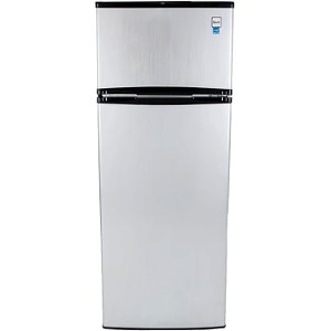 ra7316pst avanti stainless steel 74 cu ft two door apartment size