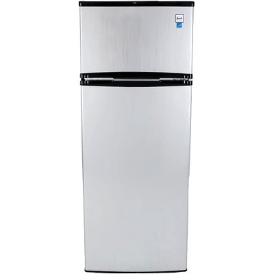 Avanti Two Door Compact Refrigerator - Stainless Steel | RC Willey ...