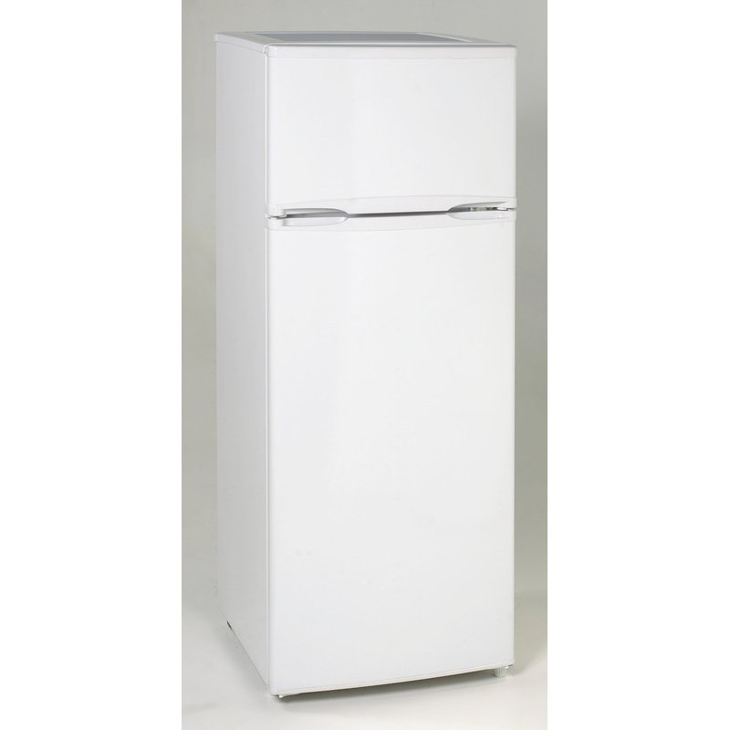Avanti Two Door Apartment Size Refrigerator   White | RC Willey Furniture  Store