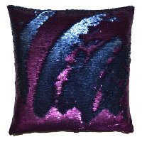 Magenta 20 Inch Mermaid Throw Pillow