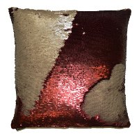 Wine 20 Inch Mermaid Throw Pillow