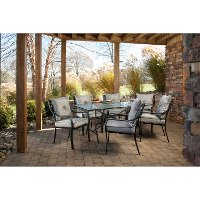 LAVALLETTE7PC Outdoor 7 Piece Dining Set - Lavallette