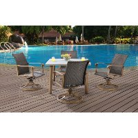 HERDN5PC-SQR Outdoor 5 Piece Dining Set - Hermosa