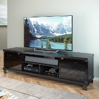 Black Extra Wide 70 Inch TV Stand - Holland