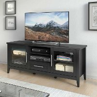 Black 60 Inch TV Stand - Jackson