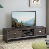 Wenge Colored TV Bench - Lakewood