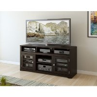 Mocha Black 60 Inch TV Stand - West Lake