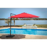 CANTILEVER-RED Outdoor Red Umbrella - Cantilever