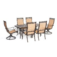 MANDN7PCSW-2 Outdoor 7 Piece Dining Set - Manor