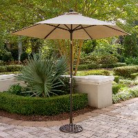 TRADITIONSUMB Outdoor Tan Umbrella - Traditions